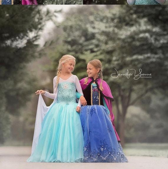 Elsa inspired ballgown tutu dress size 5