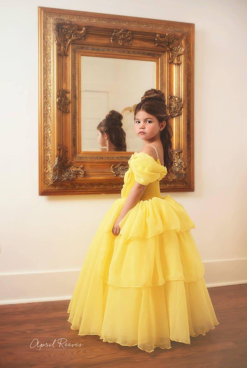 4f6fe9053aa New Belle inspired 2017 dress ballgown tutu size 2t