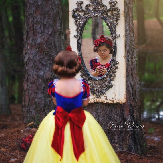 0ee2f4563020 Snow White inspired princess dress size 6 ball gown primafashions
