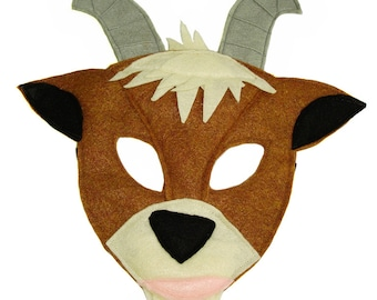 Children's GOAT Farm Animal Felt Mask