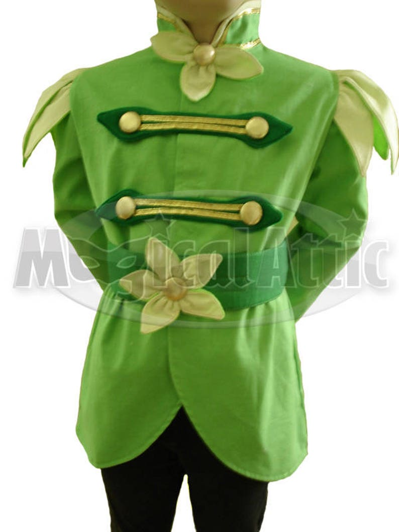 Custom Boutique PRINCE NAVEEN of The Princess and the Frog Movie Child Size Costume For Boys