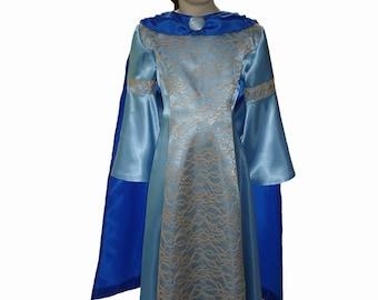 Custom Boutique SUSAN Pevensie of Narnia Girl Size Costume Dress Set