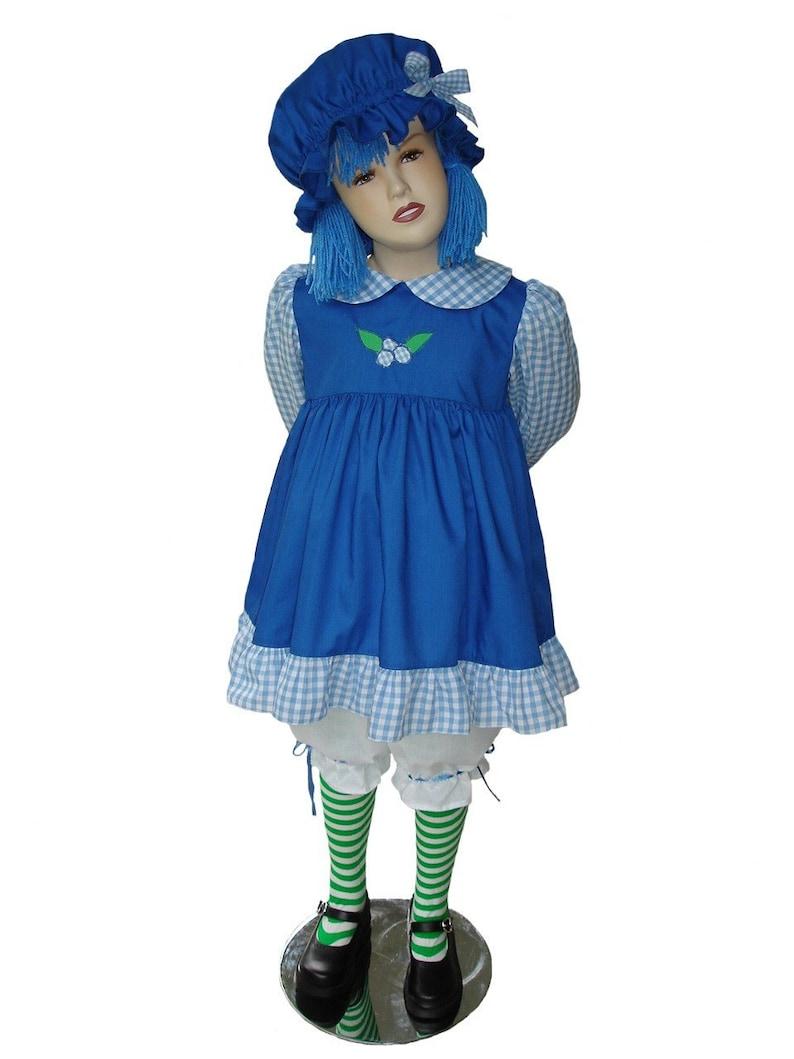 196d72b550e Custom Boutique BLUEBERRY MUFFIN Girl Size Costume Set