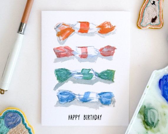 Taffy Assortment Birthday Card