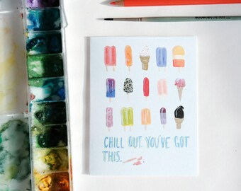 You've Got This Popsicles Greeting Card