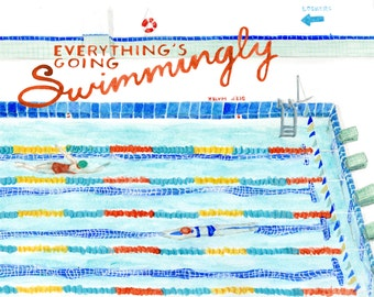 Everything's Going Swimmingly Poster