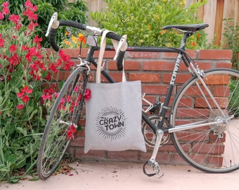 Welcome to Crazy Town Tote Bag - Chambray