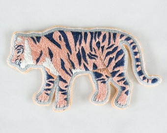 Hand Embroidered Tiger Patch *SOLD OUT*
