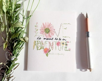 Greeting Card: Love Is An Adventure