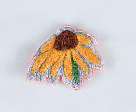 Hand Embroidered Flower Patch *SOLD OUT*