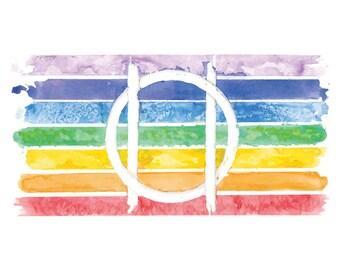 Pride Druid Sigil Print