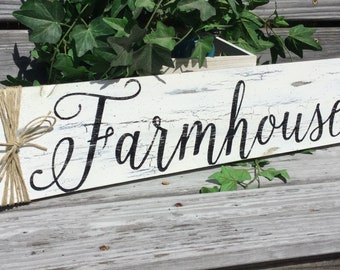 Farmhouse Sign country rustic and primitive home decor