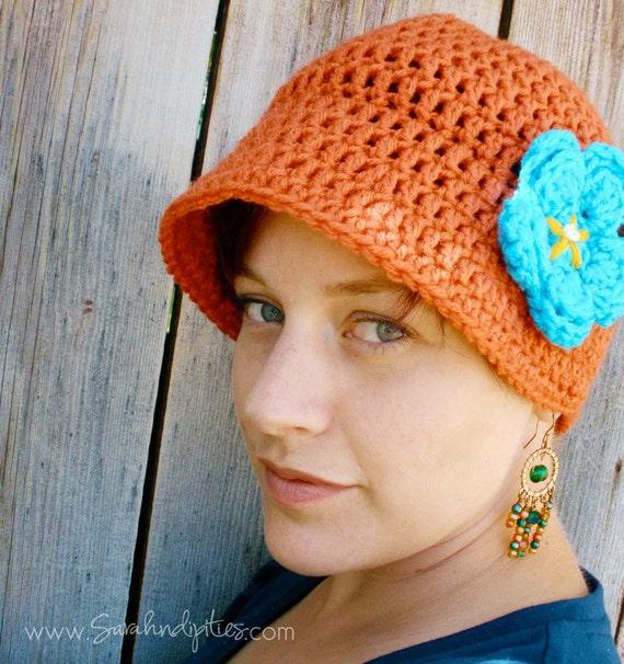 Frauen häkeln Flapper Hut Cloche Hut häkeln Vintage 20er | Etsy