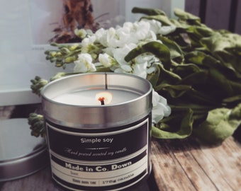 snow fairy Soy candle