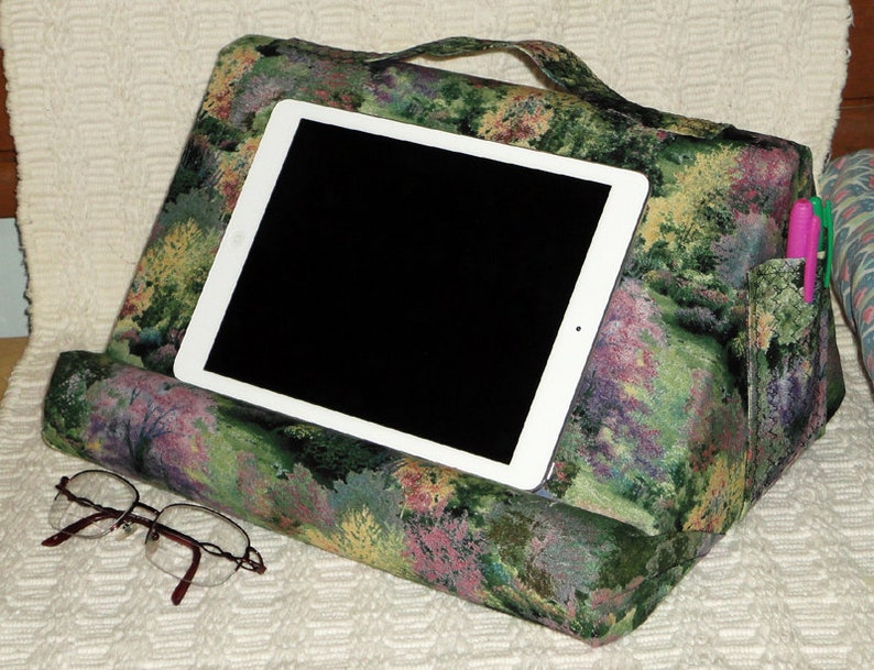 Large Lap Book or Tablet Reading Stand / Use It On Your Lap or image 0