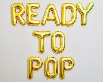 Ready to Pop, Ready to Pop Theme, She's Ready to Pop, Pregnancy Photo Prop, Champagne Theme, Ready to Pop Baby Shower, Baby Shower Ideas,Pop