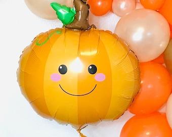 Little Pumpkin Balloon, Little Pumpkin Birthday, Pumpkin Balloon, Little Pumpkin Baby Shower, Our Little Pumpkin, Pumpkin Party, Lil Pumpkin