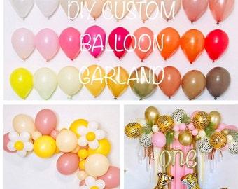 Balloon Garland Kit, DIY Balloon Garlands, Balloon Garland, Custom Balloon Garland, Custom Balloon Arch, DIY Balloon Arch, Mini Balloons,