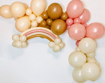 Boho Rainbow, Boho Balloon Garland, Boho First Birthday, Boho Baby Shower, Boho Decor, Boho Birthday, Boho Rainbow, Balloon Garland Kit