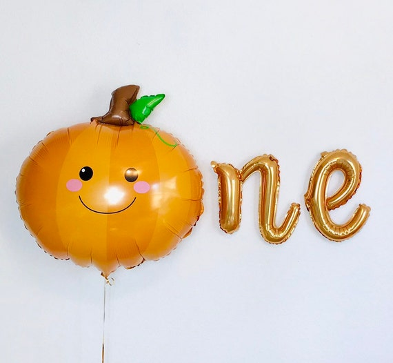 Lil Pumpkin First Birthday Little Pumpkin Baby Shower Pumpkin Party Pumpkin Balloon 18 inch Halloween Balloons