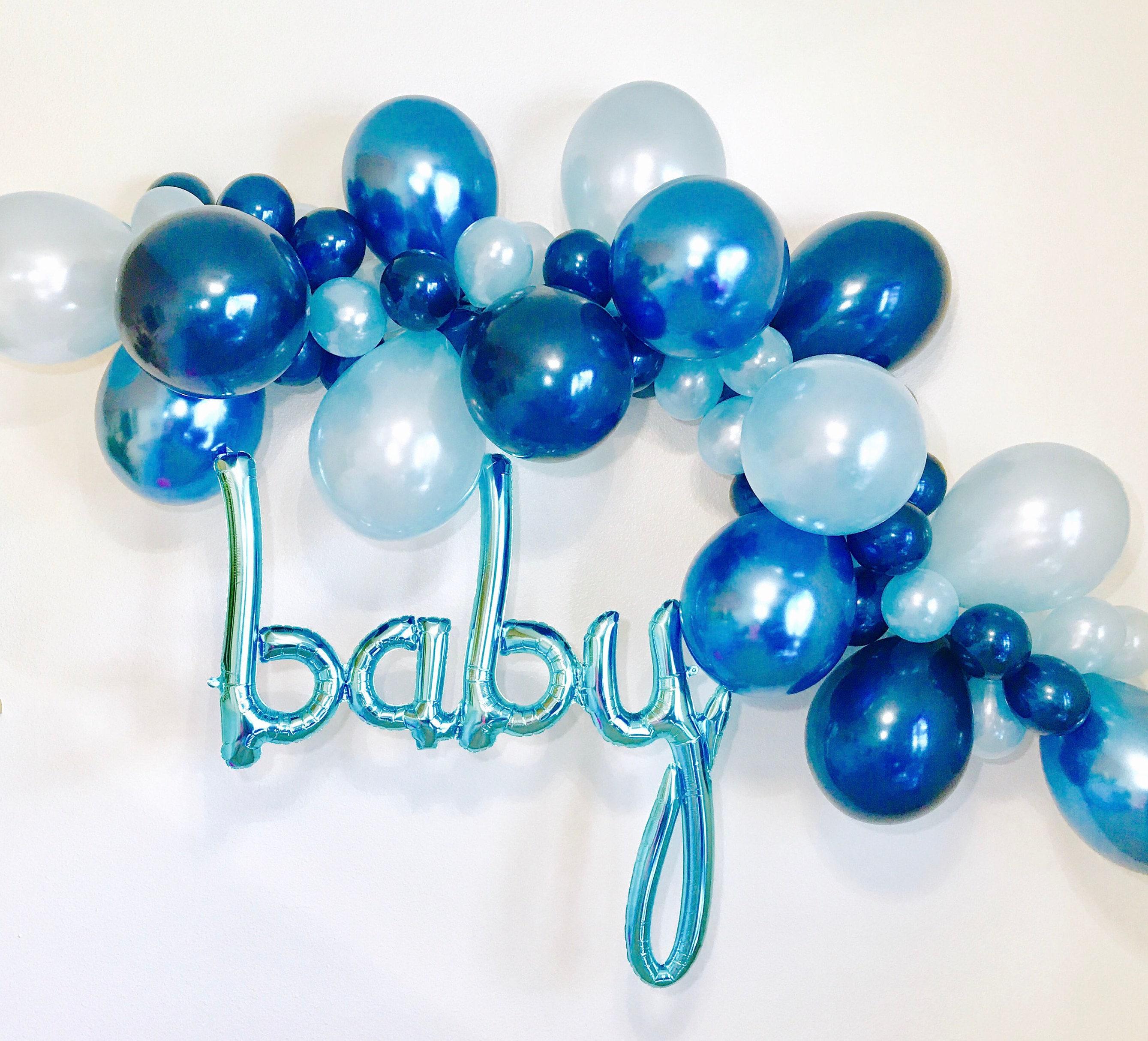 Blue Balloon Garland DIY Balloon Garland Balloon Garland