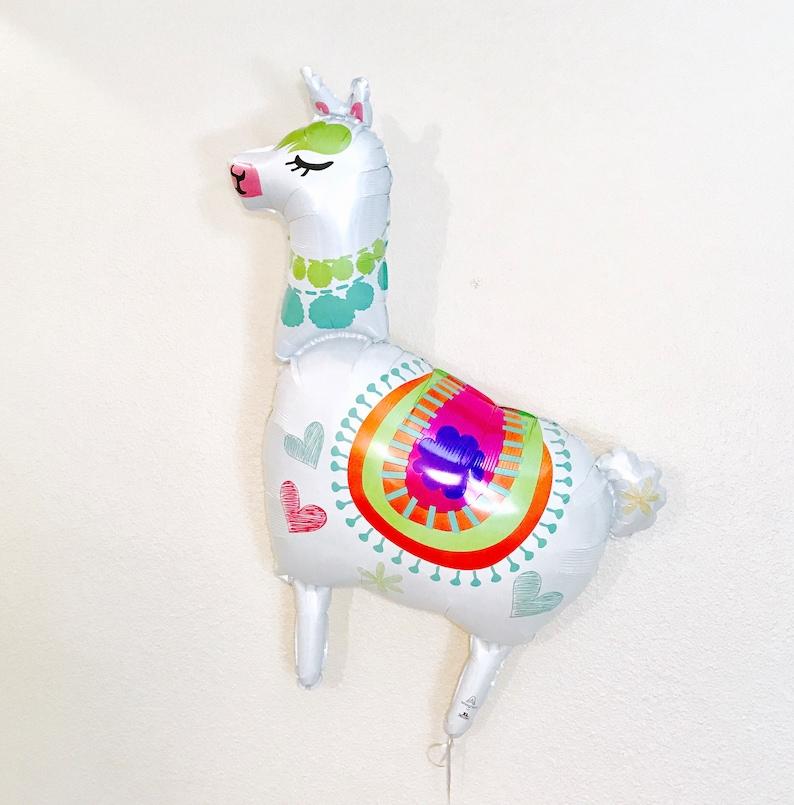 fiesta Llama Balloons Llama Decoration Llama Party llama gifts Llama Birthday llama Llama love llama lover 41 inch Llama Balloon