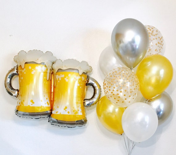 Beer Mug BalloonBeer Balloon I Do Brews Cheers And Beers Guys 30th Bday 40th Birthday Decor