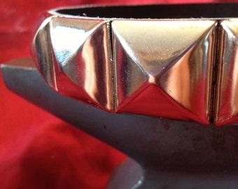 """Large 1"""" Mega Stud Leather Collar"""