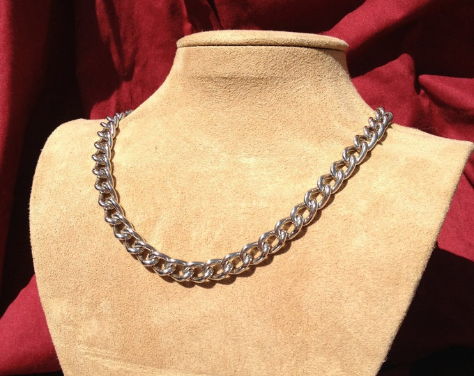 Stainless Steel Chain Necklace or Choker