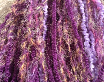 Purple Hair Falls