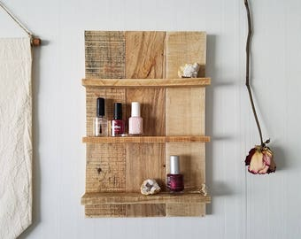 Essential Oil Shelf; essential oil storage, young living, oil shelf, nail polish rack, essential oil rack, bathroom decor, make up organizer