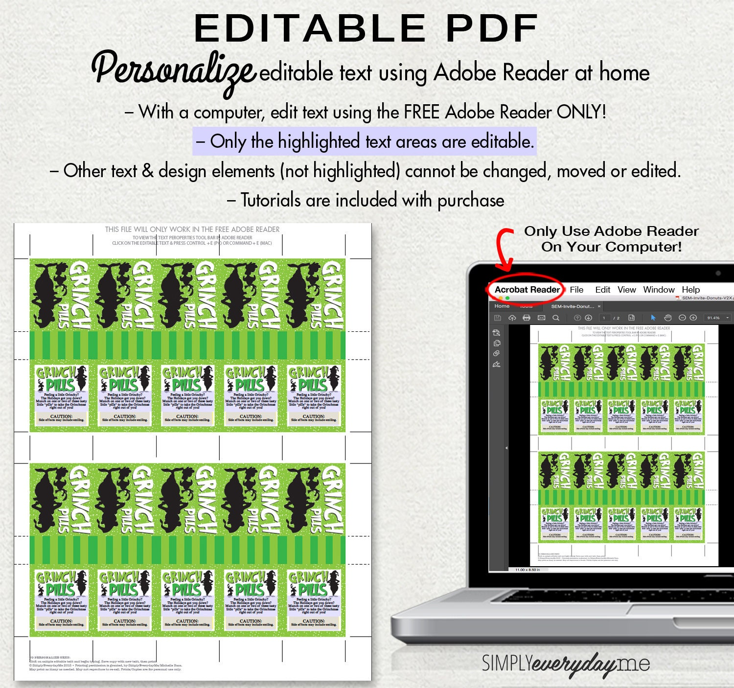 photograph relating to Grinch Pills Free Printable titled Grinch Tablets Tic Tac Label -Grinchmas Tablet Label, Social gathering