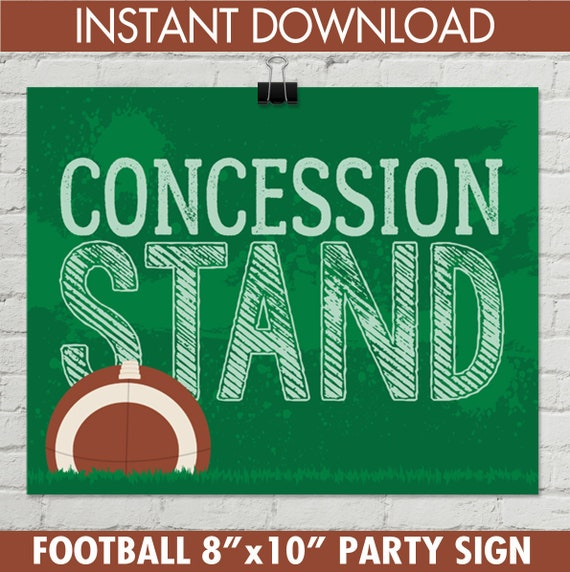 graphic regarding Concession Stand Signs Printable referred to as Soccer - Concession Stand 8\