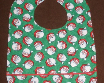 Ho Ho Ho Santas waterproof bib