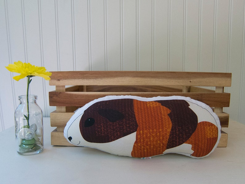 Guinea Pig Pillow Plush Soft Toy Decor Ready to Ship image 0