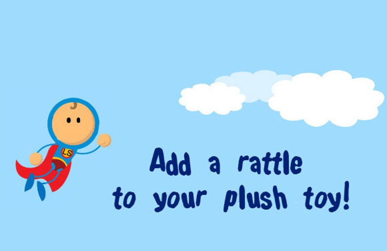 Add a Rattle to Your Plush Toy image 0