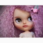 reduced - Maddie The Mad Hatter - Alice in Wonderland collection - custom blythe doll by Miss Felix