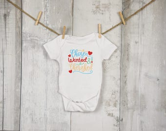 869071a7734e3 Chosen, Wanted, and Cherished Gotcha Day Adoption Embroidered Shirt