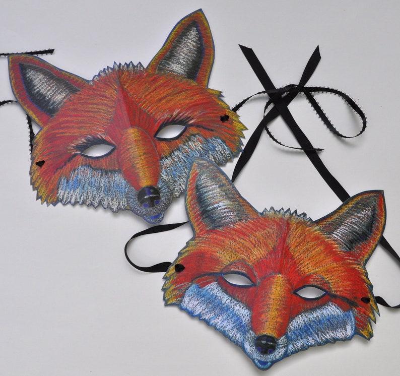Fox Family Masks