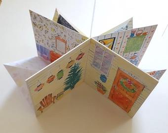 Dollhouse Book / 3D Folding House