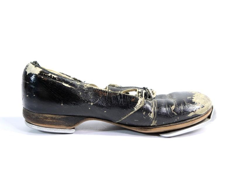 Pair of Vintage Children/'s Continental Jingle Tap Dance Shoes
