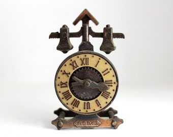 Diecast Clock Pencil Sharpener