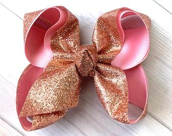 Texas Tech ribbon hair bow