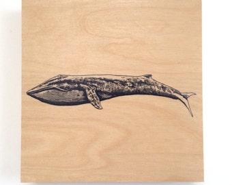Blue Whale Art Nautical Decor Animal Nursery Art Wood Wall Art on Wood Whale Nursery Decor Wood Wall Art Nautical Decor Whale Decor Art