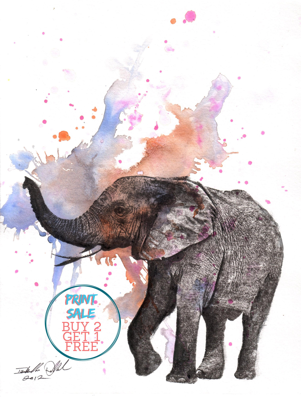 Elephant Artwork posterprint