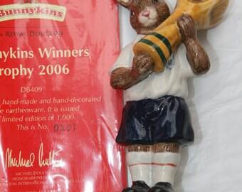 Royal Doulton Bunnykins Winner Trophy Figurine