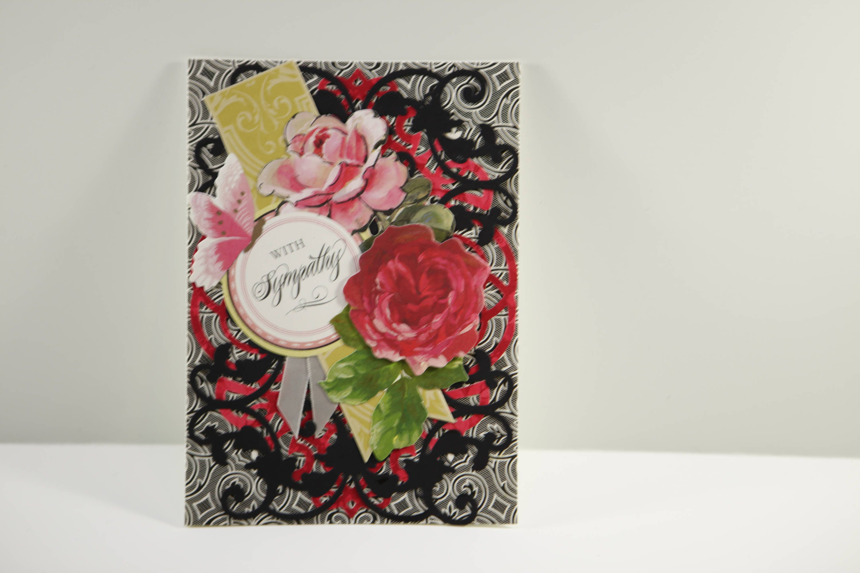 Sympathy Card Deepest Sympathy Card Grief Card Mourning Etsy
