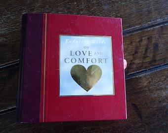Words of Love Altered Book Journal OOAK