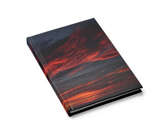 Dramatic Sky Journal Notebook in Sumptuous Colours - Blank Pages A5