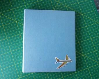 England Travel Journal Altered Book or Notebook Junk Journal Vintage